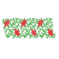 Neckline Border Machine Embroidery Design_EmbroideryShristi Border Embroidery Designs, Machine Embroidery Designs, Neckline, Plunging Neckline, Machine Embroidery