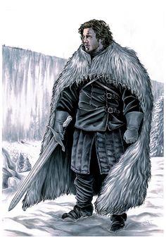 Jon Snow (Walter Trono 2015)