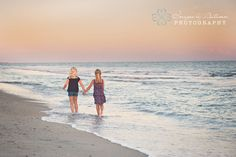 Family Beach Portrait Sisters Images by Autumn Photography www.imagesbyautumn.com Atlantic Beach, NC