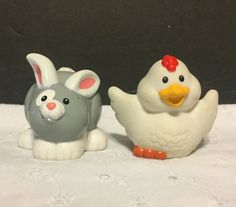 Fisher Price Little People Chicken Bunny 2001 | Toys & Hobbies, Preschool Toys & Pretend Play, Fisher-Price | eBay!