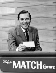 The Match Game, with Gene Rayburn.