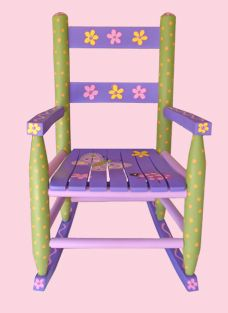 Idea for painting C's rocking chair