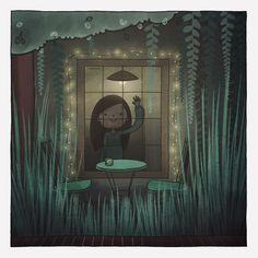 #comics #comic #comicart #comicfun #messages #draw #drawing #art #illustration #doodle #colours #colors #figures #life #picture #girl #hi #bye #window #garden #lights #love #happy #mood #sine #shiny #green Drawing Art, Comic Art, Doodles, Window, Colours, Messages, Illustrations, Mood, Lights