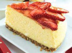 Strawberry-Coconut Cheesecake Recipe  at Epicurious.com