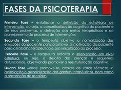 fases da psicoterapia