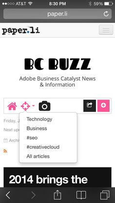22 Best Adobe Business Catalyst Websites images in 2012