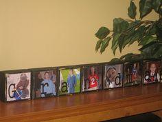 Personalized Mothers Day Gifts for Grandma Mom Grandparents Grandpa PHOTO BLOCKS Christmas Birthday Gift Idea - Set of 7 Blocks