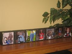 Personalized Mothers Day Gifts for Grandma Mom Grandparents Grandpa PHOTO BLOCKS Christmas Birthday Gift Idea - Set of 7 Blocks