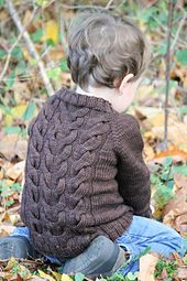 Ravelry: Lucky (you) pattern by Solenn Couix-Loarer Knitting For Kids, Baby Knitting Patterns, Baby Patterns, Toddler Sweater, Baby Sweaters, Knitting Sweaters, Knit Fashion, Knit Or Crochet, Knitwear