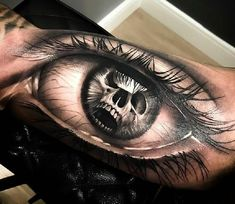 Rate This Eye Tattoo 1 to 100 Sketches Scary Tattoos, Top Tattoos, Life Tattoos, Body Art Tattoos, Hand Tattoos, Sleeve Tattoos, Band Tattoos For Men, Girl Arm Tattoos, Tattoos For Guys