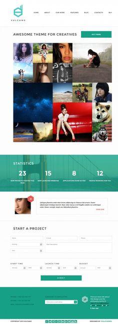 Vulcano WordPress Theme Review - Tesla Themes