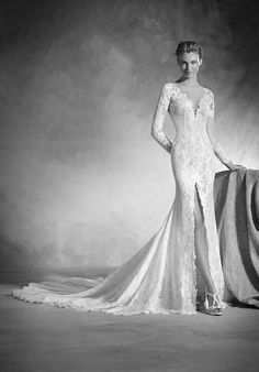 PRONOVIAS NENUFAR Wedding Dress photo