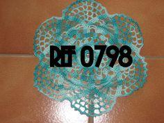 Nappeon Crochet - Ref 0800 - 3,50 Euros -Blanc - Diamètre 23