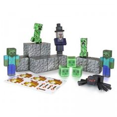 Minecraft Papercraft: Overworld Hostile Mobs