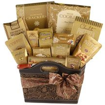Premium Deluxe  $120.00 Gift Baskets, Customized Gifts, Coffee, Drinks, Food, Personalized Gifts, Drinking, Beverages, Meal