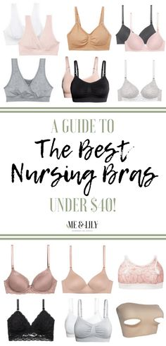 Read this post to find out the best affordable nursing bras for breastfeeding mothers! Breastfeeding And Bottle Feeding, Breastfeeding Support, Nursing Clothes, Nursing Bras, Pregnancy Calculator, Preparing For Baby, Baby Time, Baby Wearing, New Moms