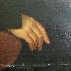 Detail. #detail #gand #paint #oilpaint #veauty #antiquepaint #arsenalepiu #antiqueshop #ancient #wunderkammer