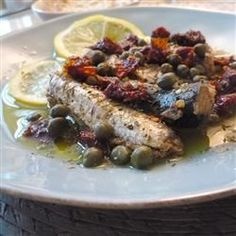 Sardines with Sun-Dried Tomato and Capers Allrecipes.com