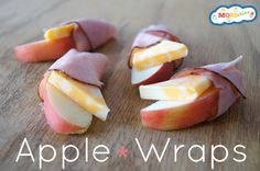 Apple Ham and Cheese Wrap on Cool Mom Picks