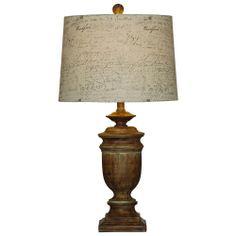 Hallman Aged Bronze Table Lamp