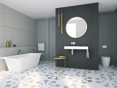 Matte finish bathroomware - Caroma Sunstone Solid Surface Collection