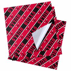 """Chicago Bulls 20"""" x 30"""" Wrapping Paper - $5.99"""