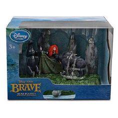 Disney Pixar Disney Store Exclusive Brave Bear Playset Merida #Pixar