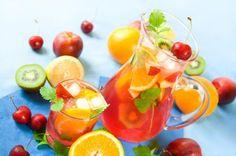 Ponches de frutas