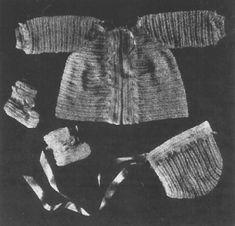 Alice Fowler Crocheted Baby Set 1208
