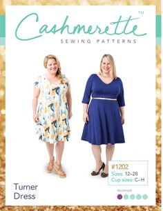 Turner Dress PDF pattern - Cashmerette Patterns - 8