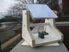 DIY solar tracker, providing maximum power to your SHTF stronghold