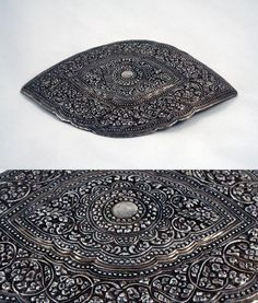 Western Indonesia - Sumatra | Belt buckle; silver with copper backing | ca. early 20th century | 1'200S$