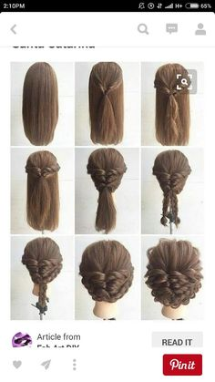 How To Do Hairstyles For Long Hair Top 10 Super Easy 5Minute Hairstyles For Busy Ladies  Pinterest