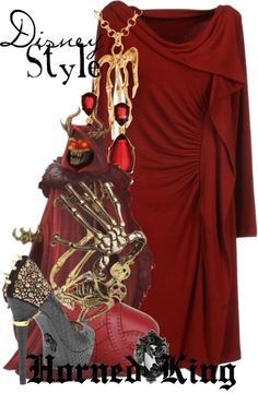 """""""Disney Style : The Horned King"""" by missm26 on Polyvore"""