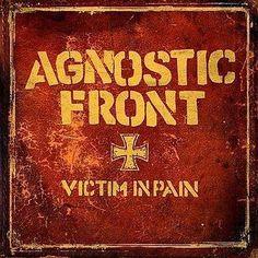 AGNOSTIC FRONT - Victim In Pain *LTD. LP* PUNK Noble Gatefold 25th Year Reissue