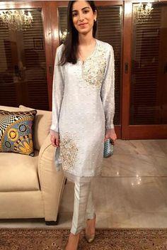 Pakistani outfit by Nazli Akbar