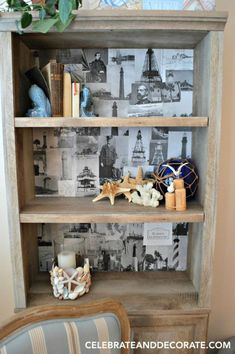 Nevermind painting or staining - this idea is awesome!