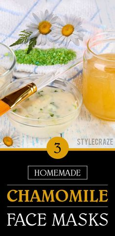 3 Simple Ways To Prepare Chamomile Face Mask At Home