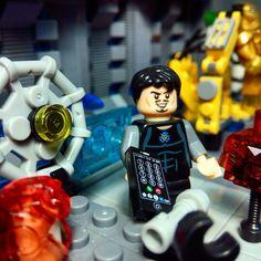 Marvel And Dc Superheroes, Marvel Avengers, Lego Iron Man, Lego Building, Tony Stark, Legos, Disney Princess, Disney Characters, Fun
