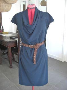 2011-08-116 - Allison.C Sewing Gallery: DKNY wearability report & BurdaStyle 08/2011 116 Dress