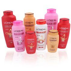L 'OREAL PRODUCTS | Oreal Paris Shampoo