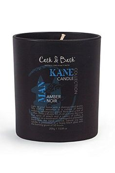 Deal of The Month 50 OFF  Cash  Bash  KANE AMBER NOIR CANDLE  200g  Lemon Verbena  Lemongrass  Coffee  Wonderful Array of Aromas  Natural Soy Wax  Generous 50 Hours Burn Time  * Learn more by visiting the image link.