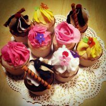 フェルトケーキ felted cakes
