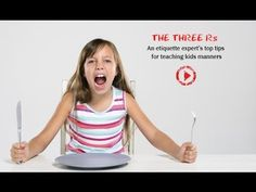 [VIDEO] Parenting Tips - How To Teach Table Manners To Kids - YouTube