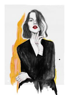 Fashion illustration @fannymonroy