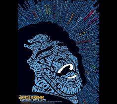 James Brown Amazing Posters design