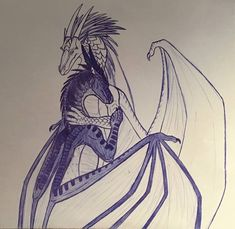 More of my fav characters from Wings of Fire because.I can't stop drawing them, they need more art. Drew this thinking of when Arctic and Fo. Runaways- Prince Arctic x Foeslayer Wings Of Fire Dragons, Got Dragons, Dragon Armor, Clay Dragon, Fantasy Creatures, Mythical Creatures, Dragon Poses, Warrior Cats Series, Fire Fans