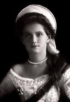 Grand Duchess Maria Nikolaevna of Russia, 1910.  Third daughter of Tsar Nicholas II of Russia & Tsarina Alexandra Fyodorovna. In 1900 & later, her birthday came on June 27 new style.  Born: June 26, 1899, Petergof Assassinated: July 17, 1918, Yekaterinburg, Russia  ~ Wikipedia https://www.facebook.com/photo.php?fbid=495721593814461&set=a.365647256821896.89364.117450408308250&type=1&theater