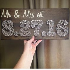Don't forget about @crookedtreetraders for your upcoming 2017 weddings! #newengland #justmarried #crookedtreetraders #wood #stringart #married #rustic #mrandmrs #love #beautiful #handmade #wood #gift #giftidea #congrats #love #lovebirds #forever #sign #wallart #madeinmaine #maine #wedding #shower