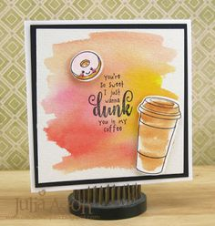 Create With Me: Coffee Lovers Summer Blog Hop - I just wanna dunk you in my coffee!